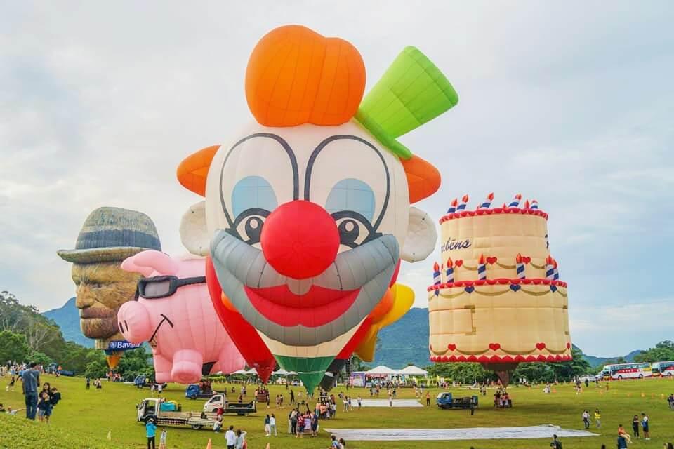 臺灣國際熱氣球嘉年華 每年吸引滿滿人潮