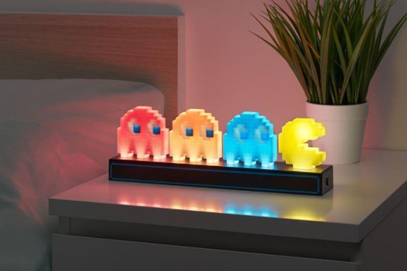 官方授權 3D Pac-Man 經典角色小夜燈