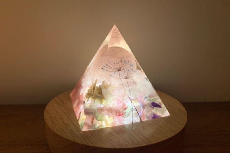 金字塔紓壓小夜燈