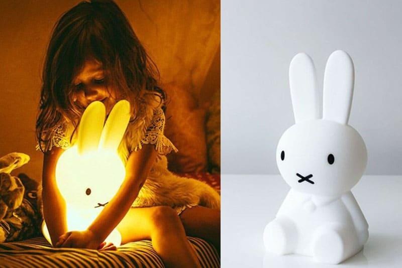 熱門兒童造型小夜燈推薦:miffy 小夜燈