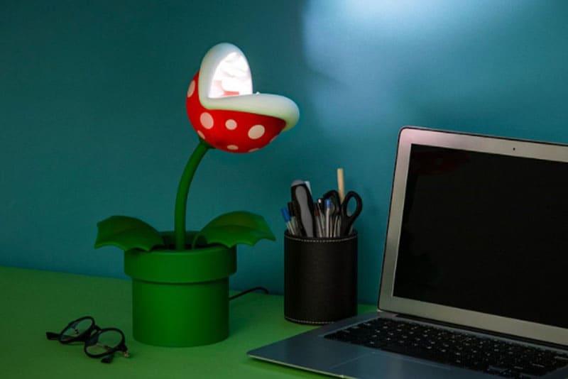 瑪利歐周邊商品:食人花造型小夜燈