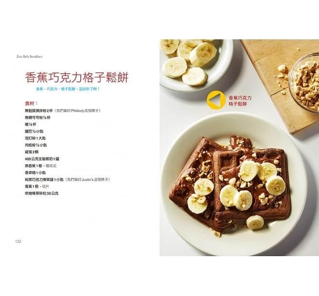 減肥食譜:香蕉巧克力鬆餅