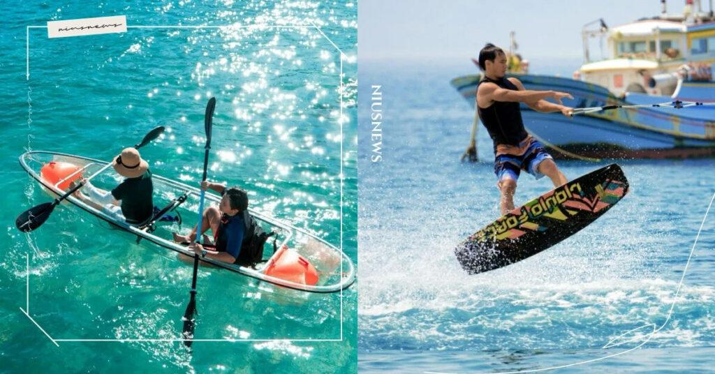 澎湖 5 大必玩的水上活動, SUP 賞日出、飛翔拖曳傘,活動詳情&預約方式