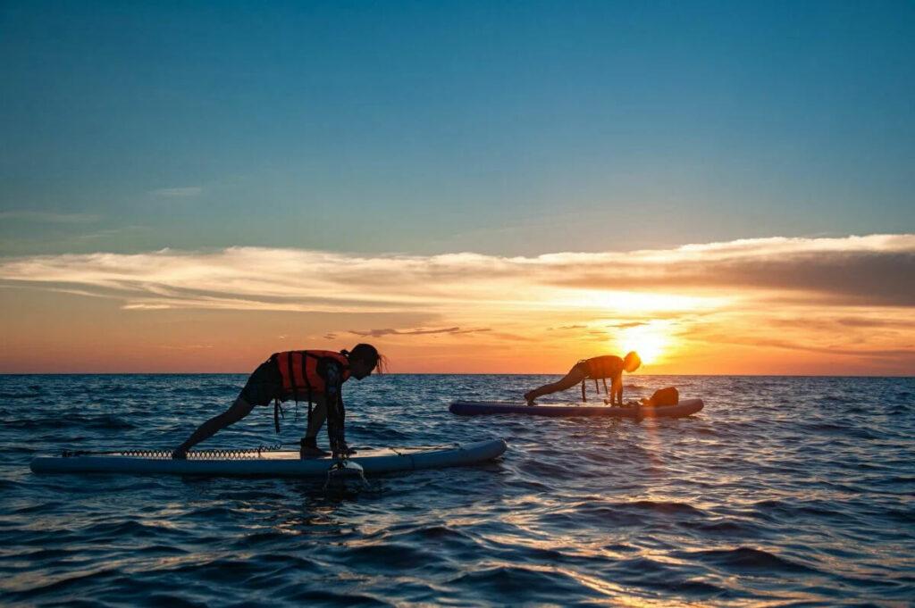 澎湖水上活動 SUP 近年來十分熱門