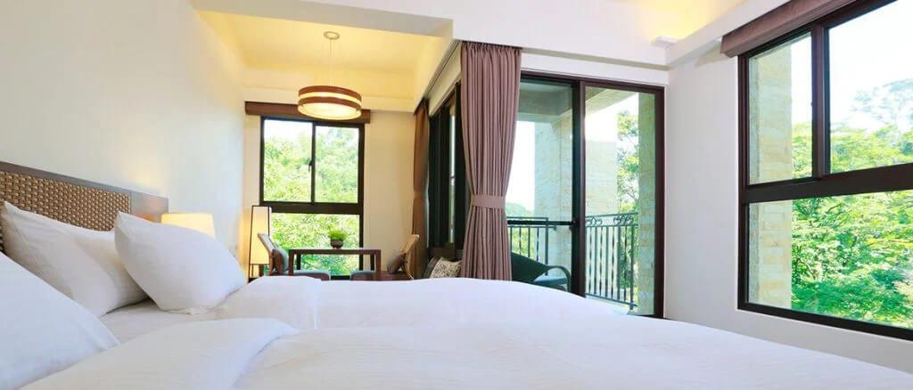 台北寵物友善旅館住宿推薦:陽明山 楓の微笑