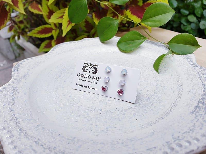 簡約醫療鋼耳環
