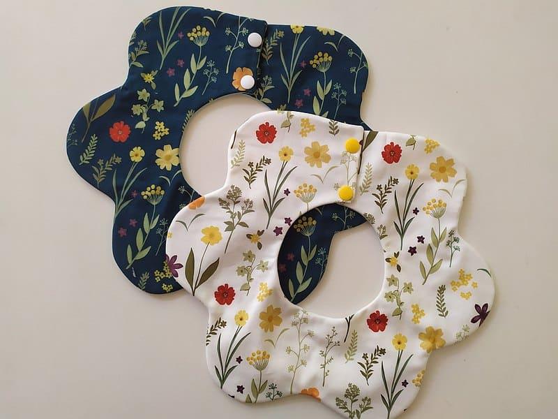 花瓣口水巾
