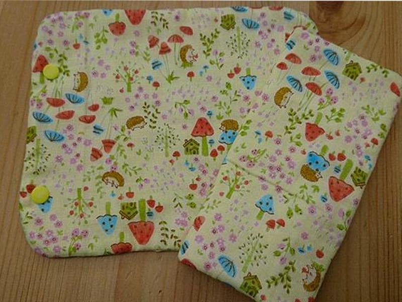 DIY背巾口水巾圖解步驟1