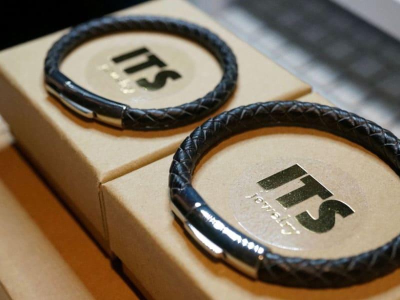 情侶手環推薦-皮革材質-手作編織皮繩鋼扣手環