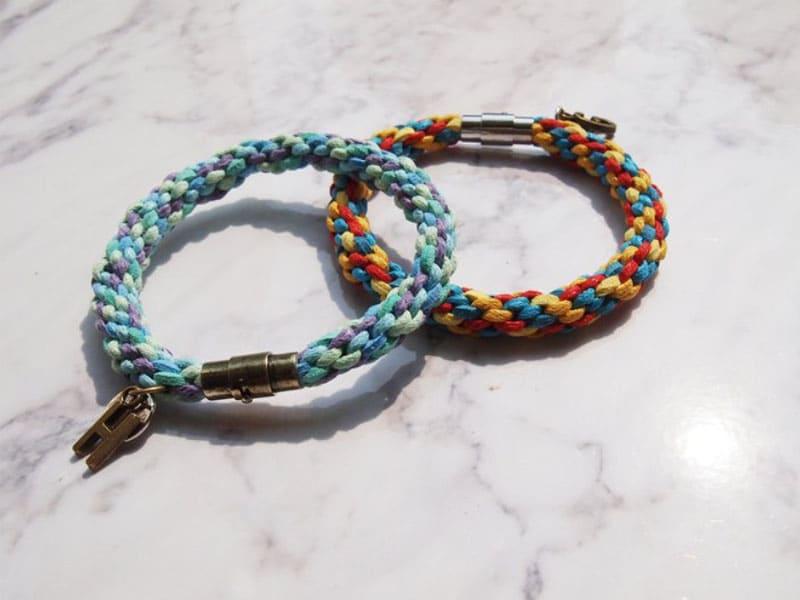 情侶手環推薦-臘線材質-自選色編織臘線情侶手繩
