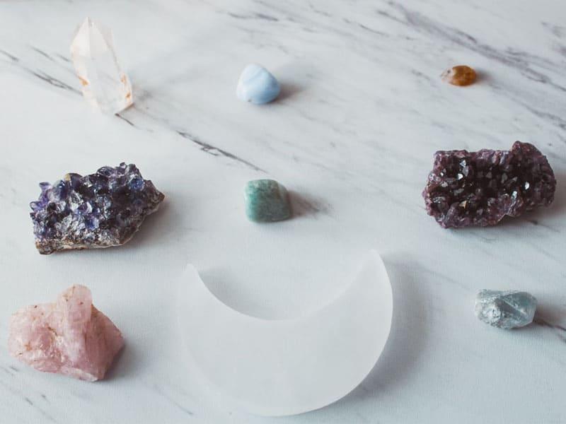 各種水晶、晶石有不同功效