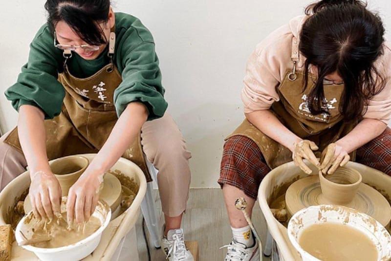 陶藝教室課程推薦:蘆葦陶藝工作室
