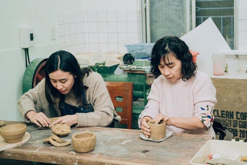 宜蘭陶藝教室:慢火雅風陶藝工作室