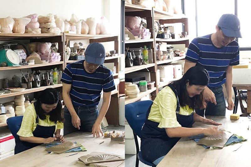 新竹陶藝課程推薦:圭窯新彩燒