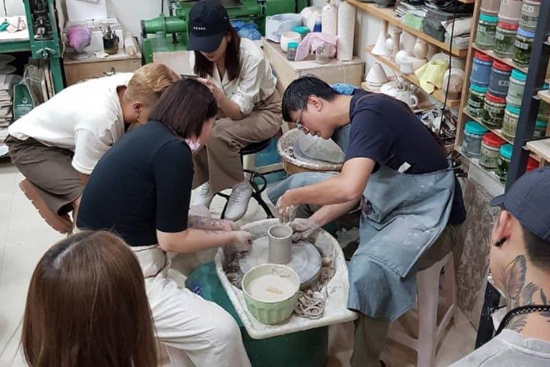 高雄陶藝課程推薦:蘆葦陶藝工作室