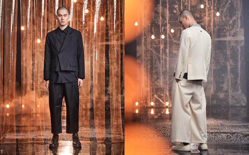 男生婚禮穿搭:設計款西裝套裝