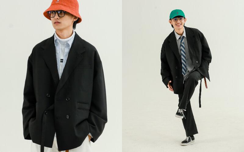 男生婚禮穿搭推薦:日系休閒西裝外套