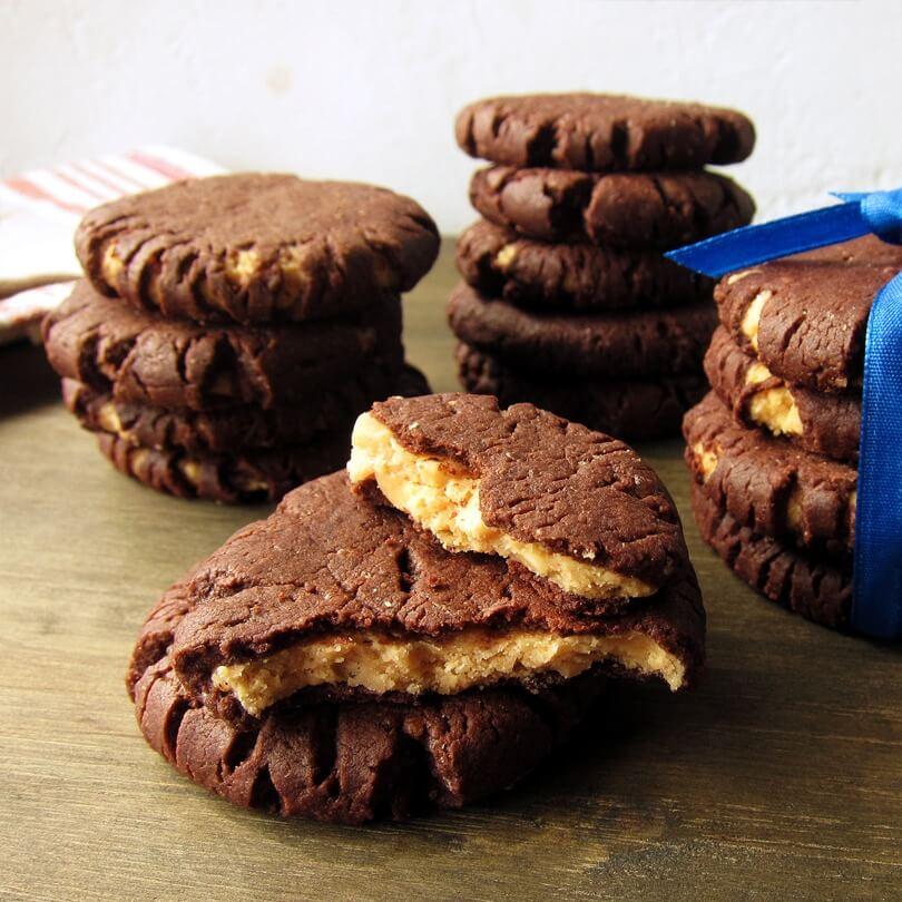 手工餅乾推薦:花生巧克力酥餅
