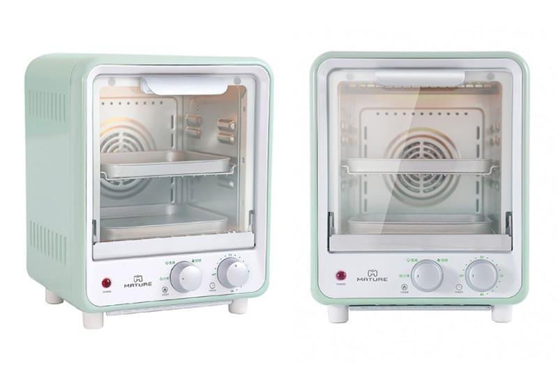 雙層蒸氣旋風9L烤箱-薄荷綠