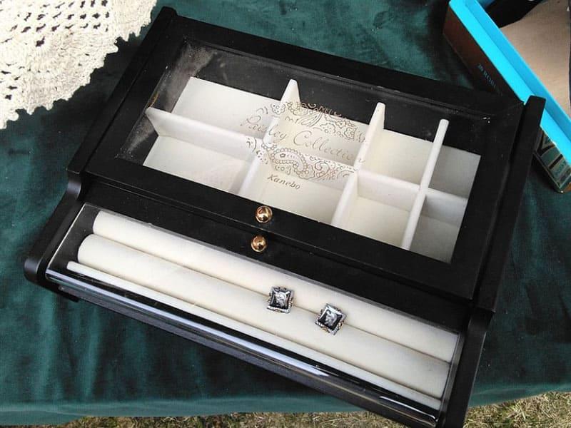 耳環收納盒推薦-木製飾品收納盒