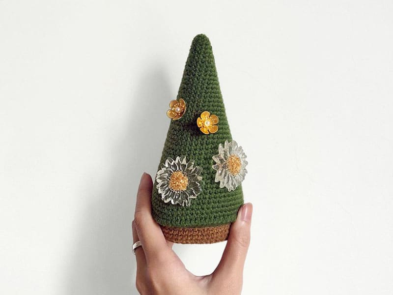 耳環收納網推薦-特殊造型耳環收納聖誕樹