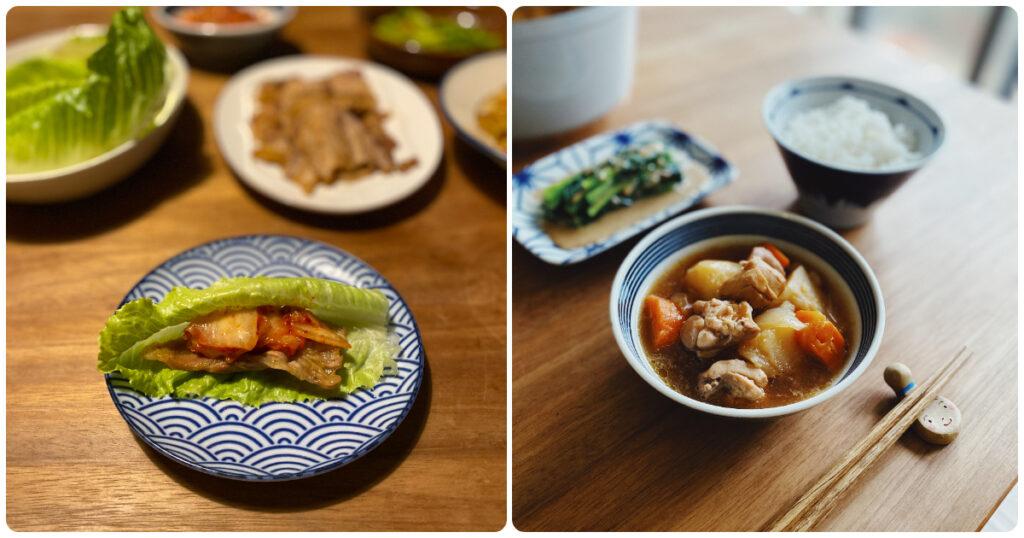 dato 日常菜色,韓式烤肉到馬鈴薯燉肉都難不倒他!