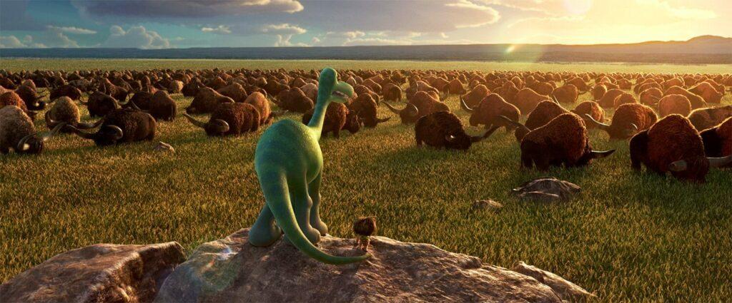 皮克斯動畫:恐龍當家桌布
