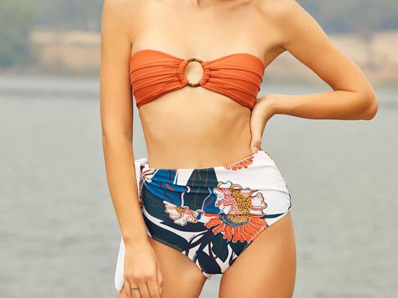 人氣比基尼推薦-平口印花款 Coralist Swimwear
