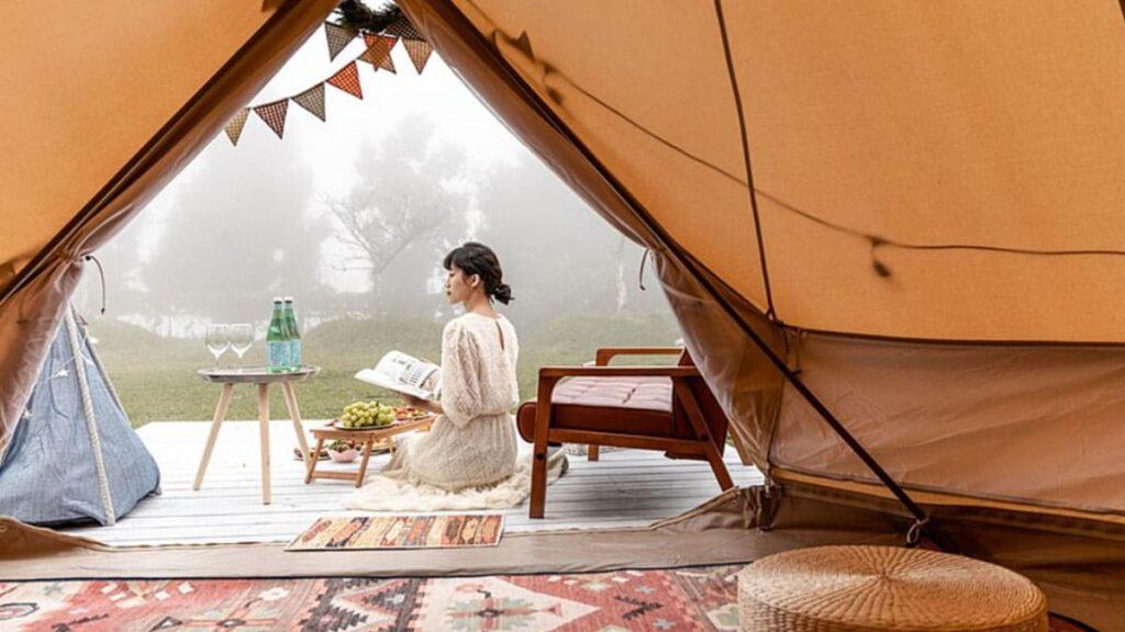 新竹露營地點:愛上喜翁豪華露營