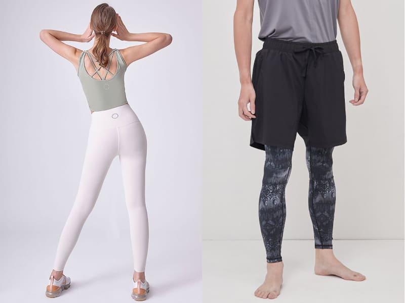 瑜珈-瑜珈服和瑜珈褲