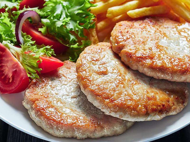 方便烹飪的低卡食材-鮮蔬洋芋火雞漢堡排