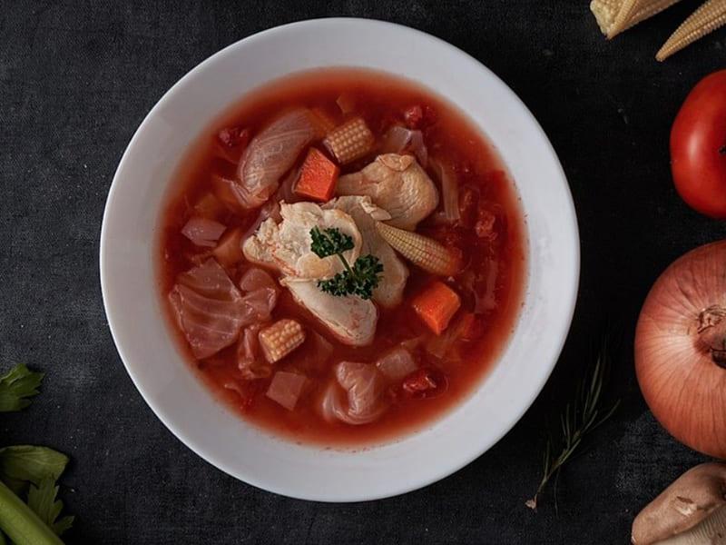 方便烹飪的低卡食材-低卡即食料理湯包