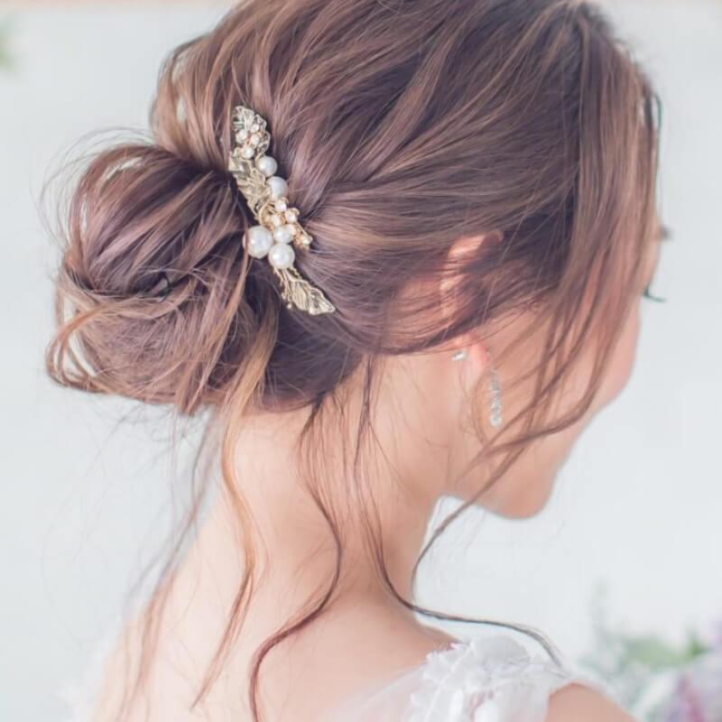 適合膚色白的女生,薰衣草奶茶色染髮