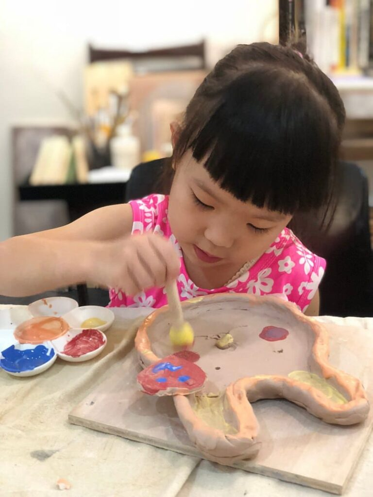 親子活動陶藝課程