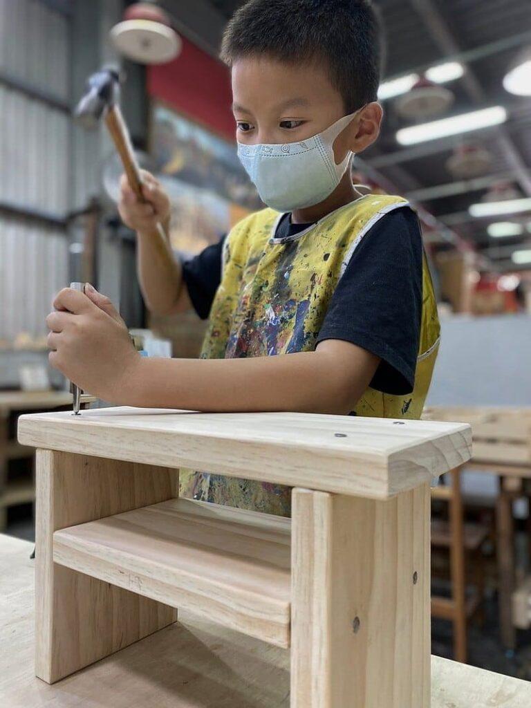 親子手作木工課程