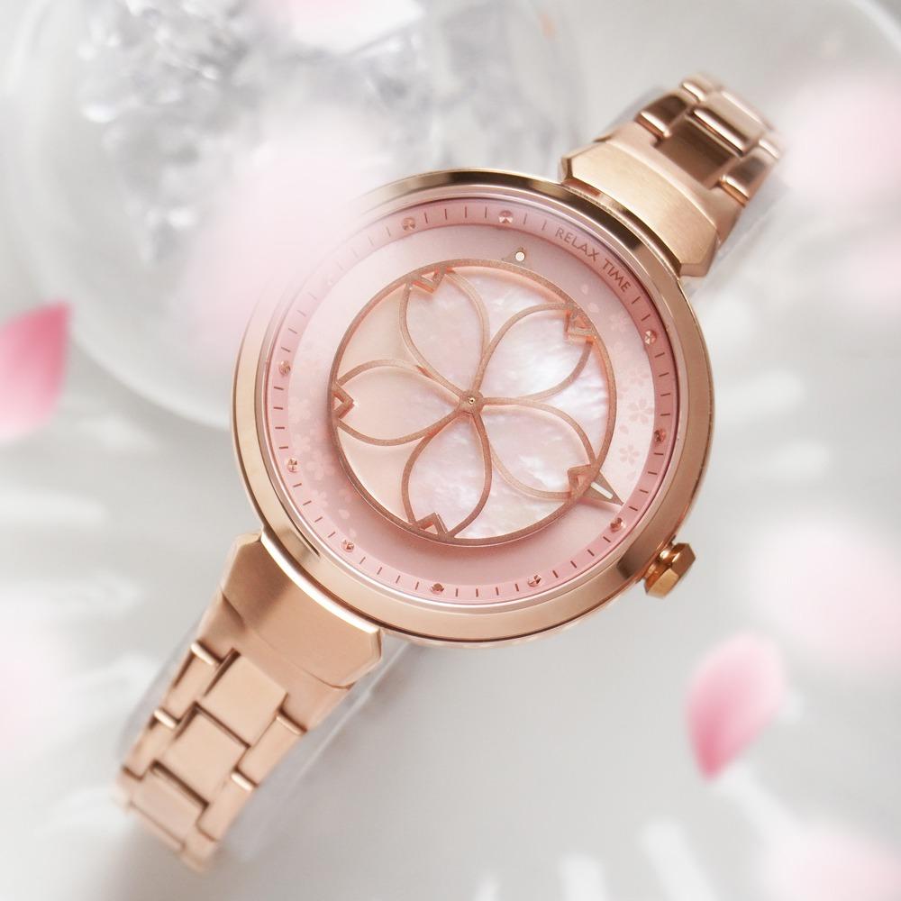 2021情人節禮物 女友禮物 七夕情人節禮物 櫻花手錶