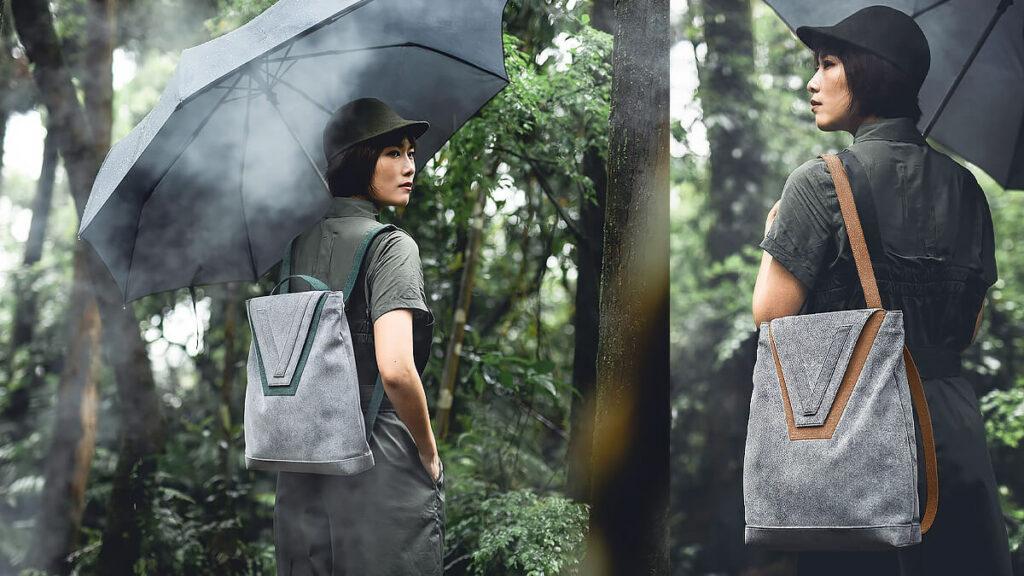 【Camouflage系列】V backpack 兩用後背包