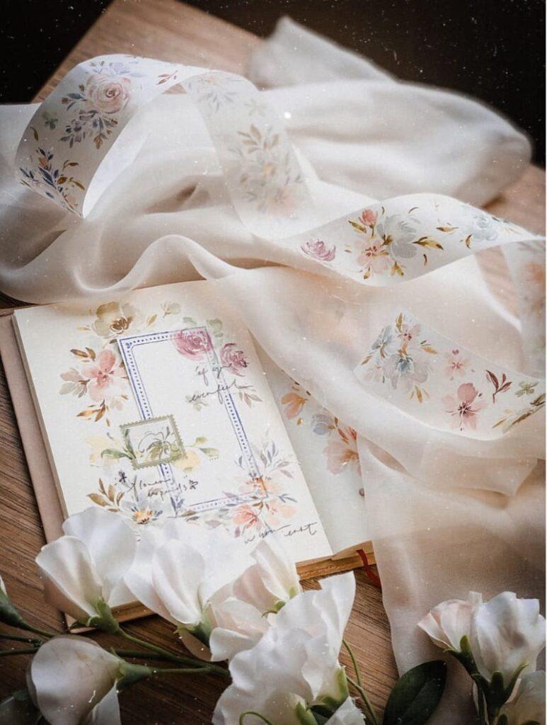 手帳設計和紙紙膠帶