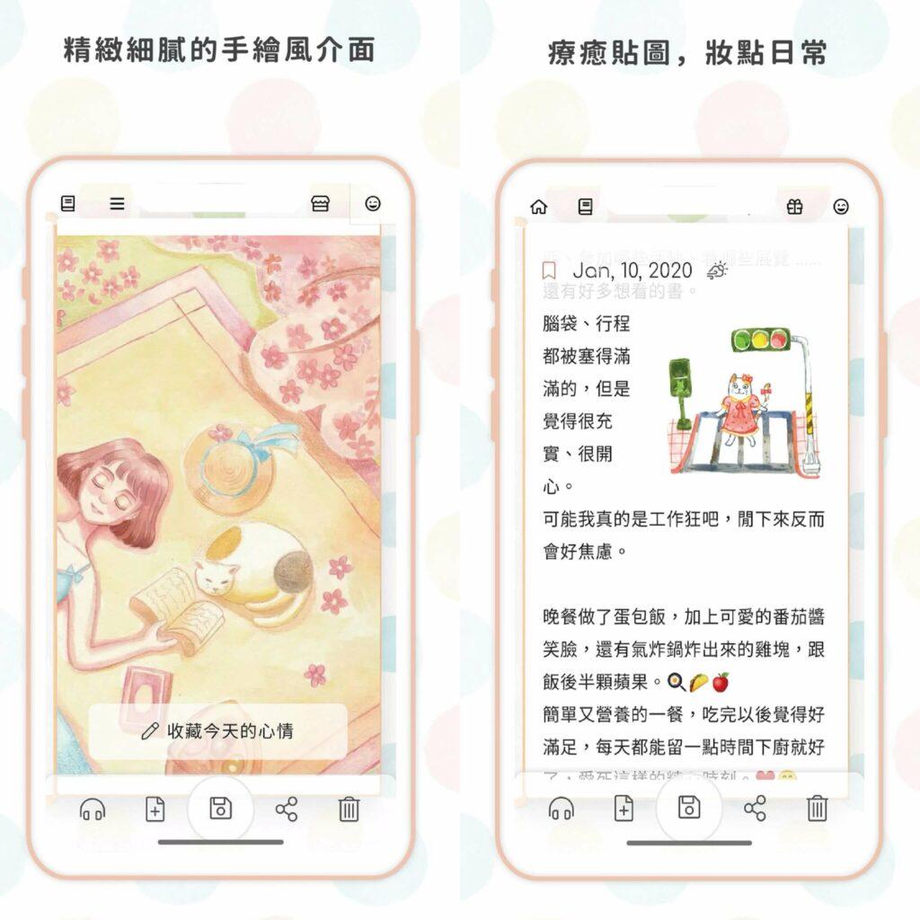 2021 日記app 推薦:溫度日記