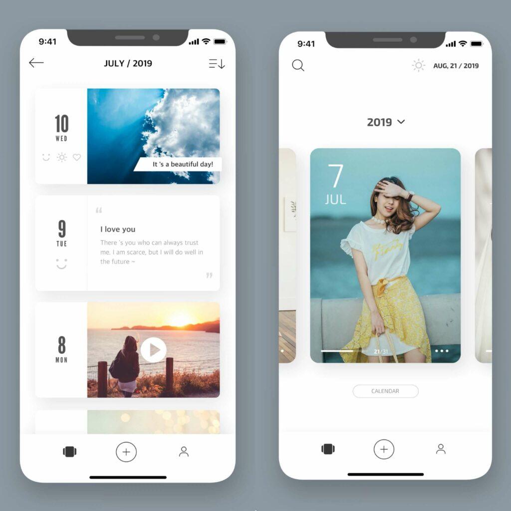 2021 日記app 推薦:卡片日記
