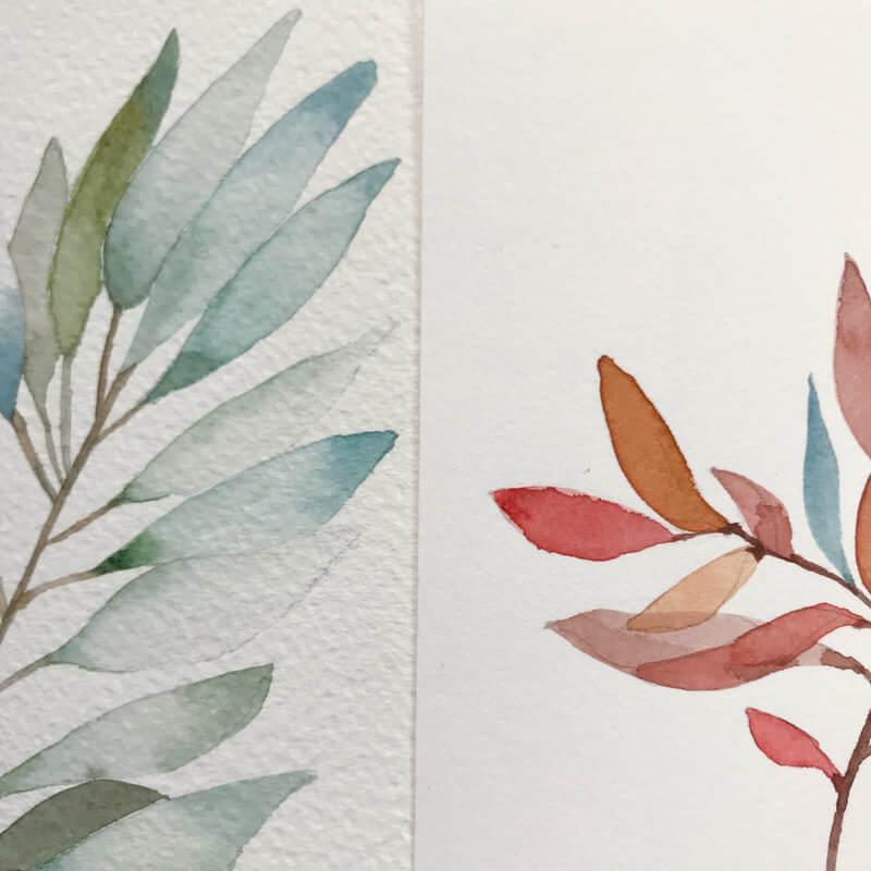 冷壓、熱壓為水彩紙的製作方法