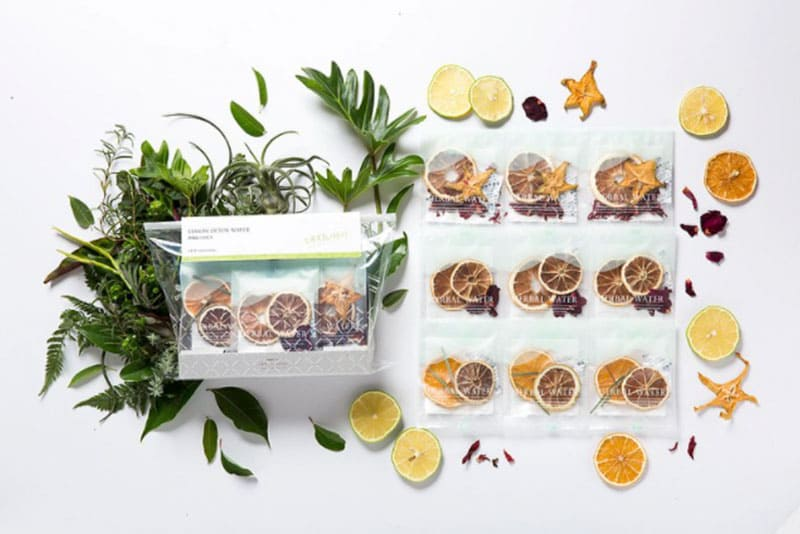 檸檬綜合果乾水是常見的水果茶