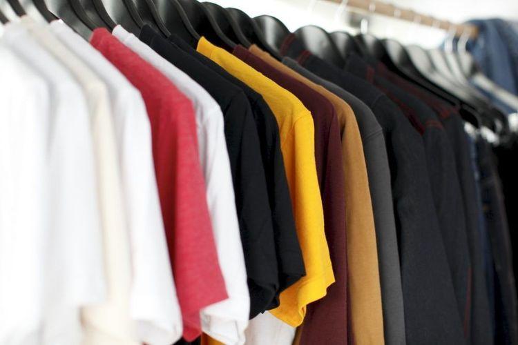 在家可以好好整理衣服