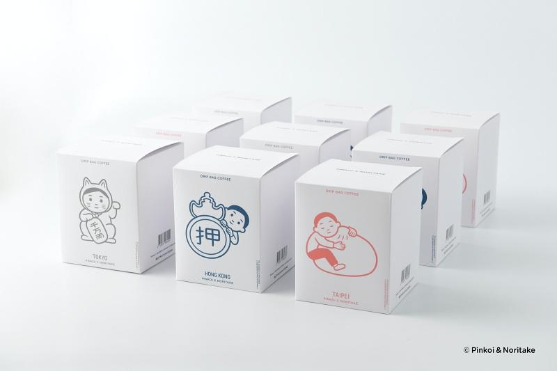 pinkoi-noritake-濾掛式咖啡盒
