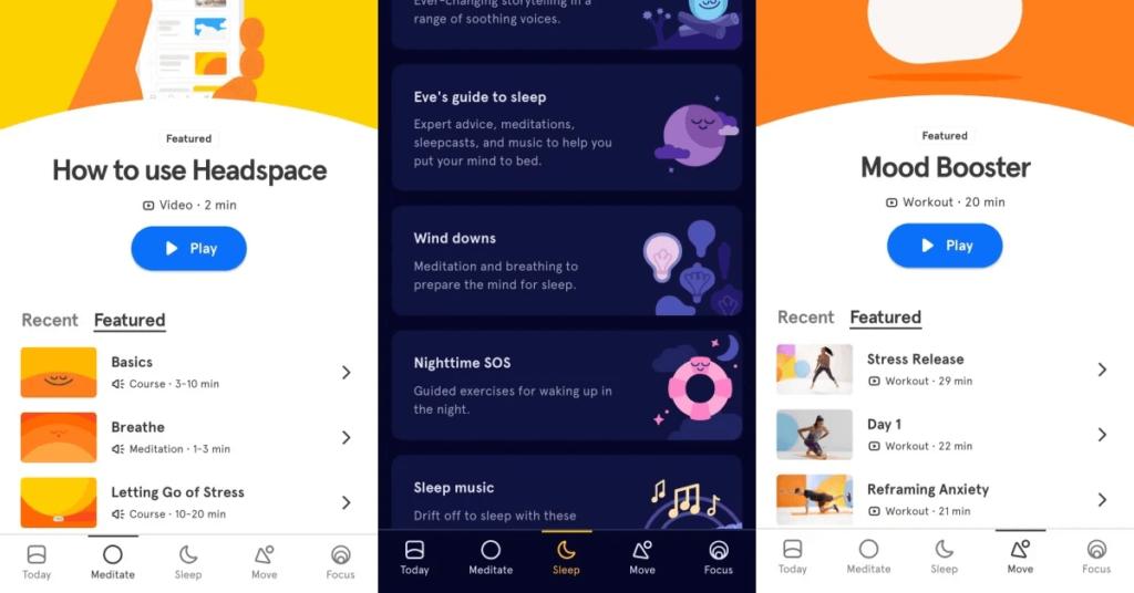 冥想 app推薦 Headspace