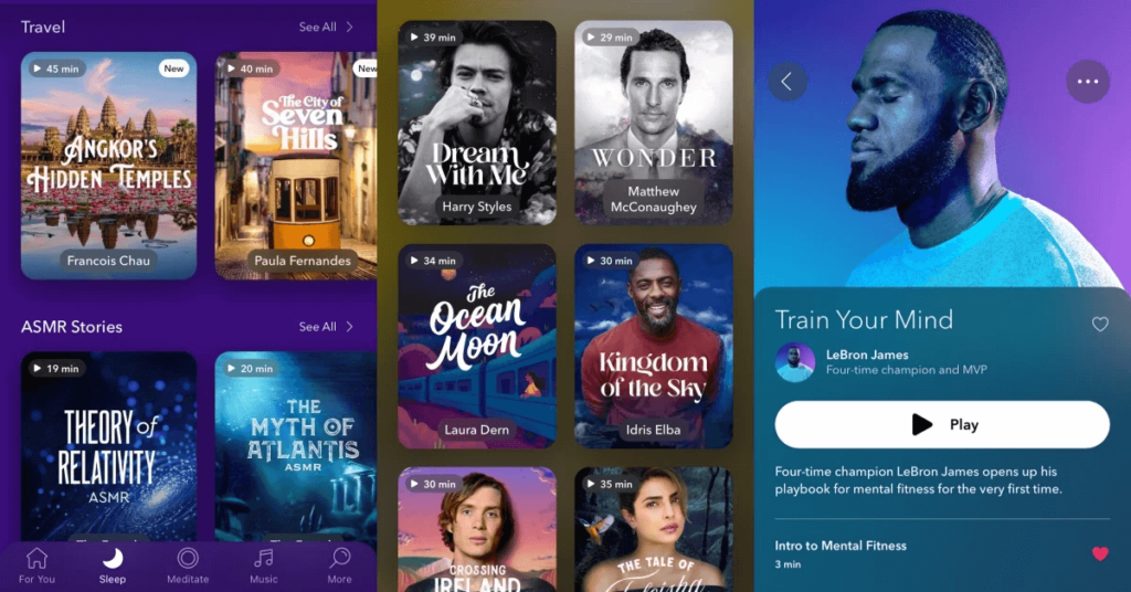 冥想 app推薦 calm