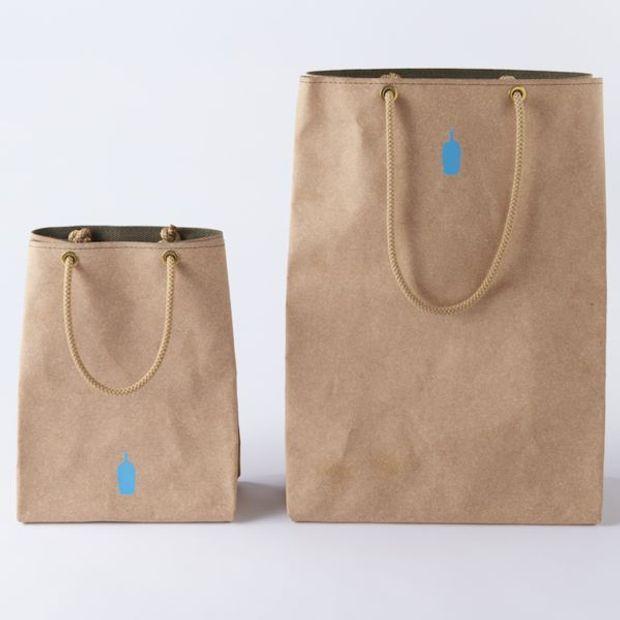 藍瓶 blue bottle coffee 聯名購物袋