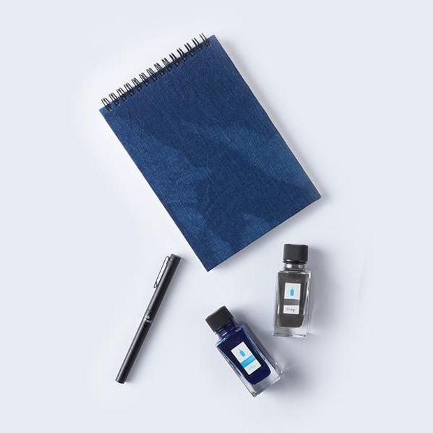 藍瓶 blue bottle coffee 聯名文具