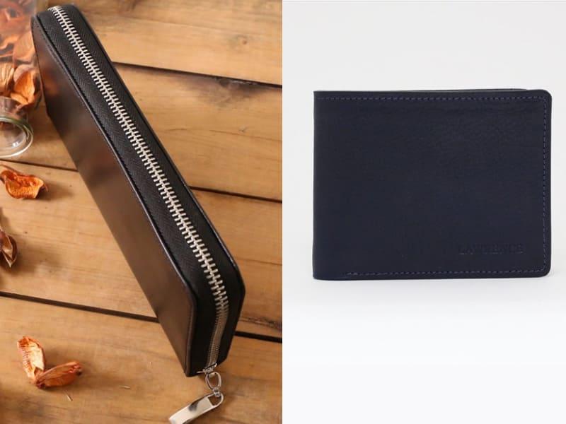 黑色、深藍色皮夾可帶來源源不絕的財富