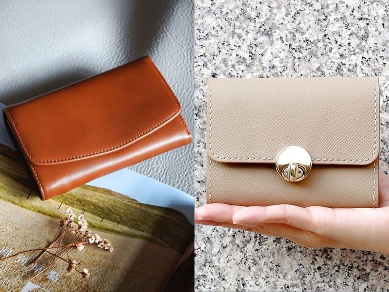 棕色、米色系皮夾能夠聚財